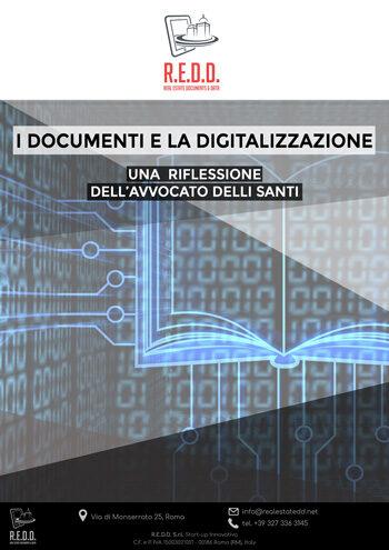 I documenti immobiliari e la digitalizzazione