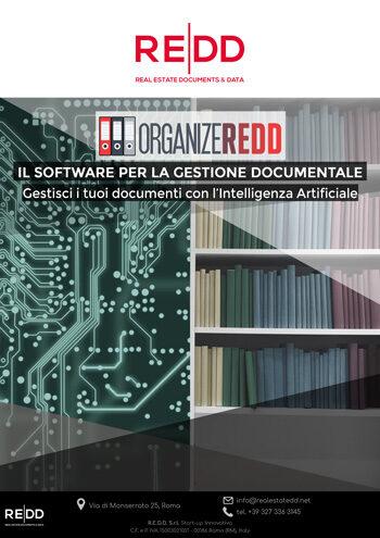 ORGANIZEREDD: gestisci i tuoi documenti immobiliari con l'intelligenza artificiale
